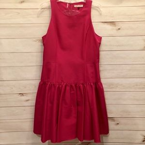 NWOT Rebecca Taylor Size 12 Dark Pink Dress
